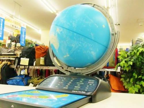 楽器・ホビー雑貨の地球儀