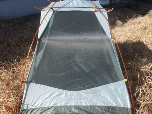 アウトドアファニチャーのテント