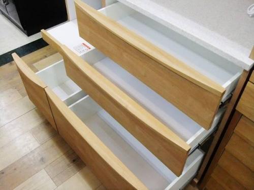 レンジボードの食器棚
