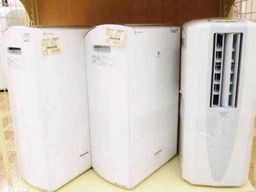 空気清浄機の衣類乾燥機