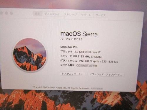 MacBookのイベントなう