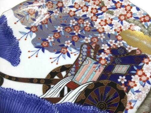 飾り皿の香蘭社
