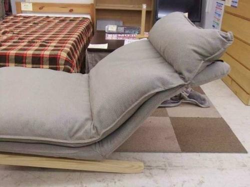 ソファのハイバックリクライニングソファ