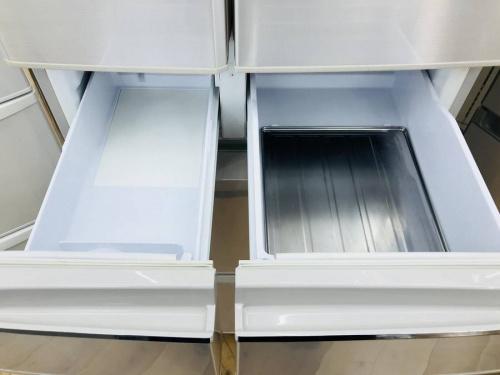 大和 家電の6ドア冷蔵庫