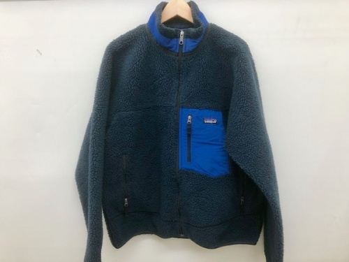 フリース ジャケットのレトロX