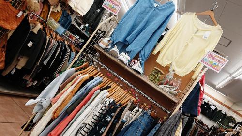 メンズファッションの服 買取 大和