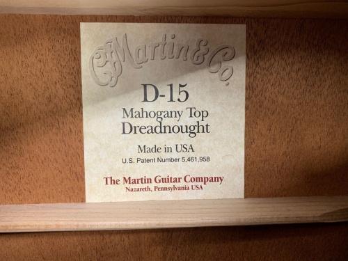 ギターのMARTIN(マーチン)