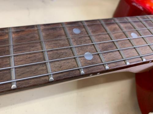 ギターのピックノーズ