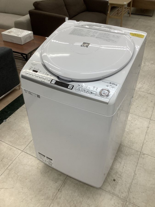 生活家電の洗濯機 SHARP(シャープ)