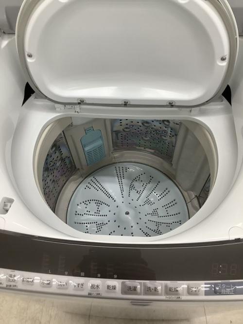 大和 タテ型洗濯乾燥機 ドラム式 大型 大容量 高年式 2020年製の大和 洗濯機 2019 中古