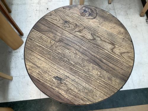 テーブル カフェテーブル  インダストリアルの横浜 チェア 中古