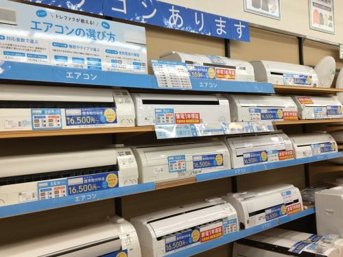 季節家電 買取 大阪のエアコン 買取 大阪