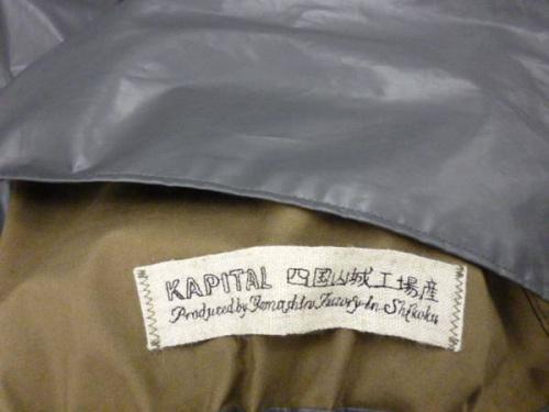 KAPITALのスプリングコート