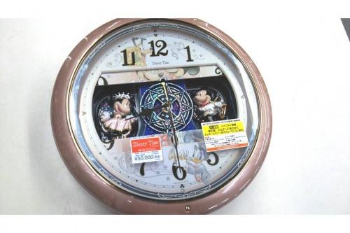 Disneyの掛時計