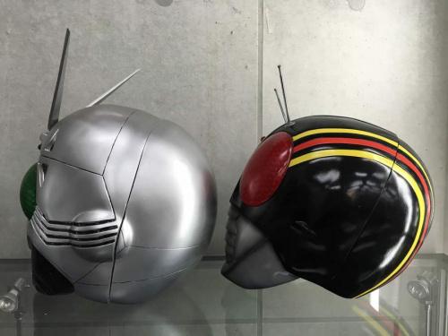 仮面ライダーのマスク