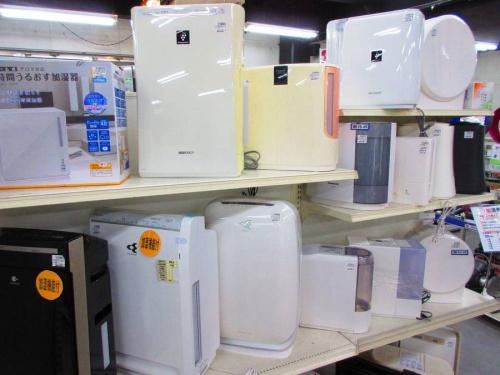 空気清浄機の浦和店入荷