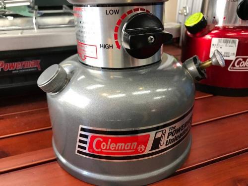 ガソリンランタンのColeman