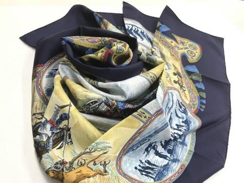 スカーフのHERMES
