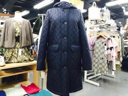 キルティングのコート