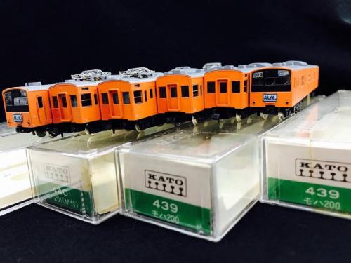 TOMIXの列車