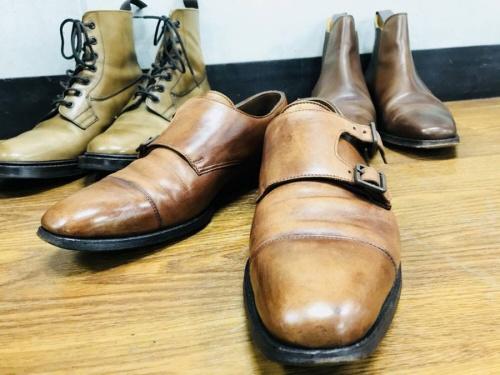 ブーツのCROCKETT&JONES