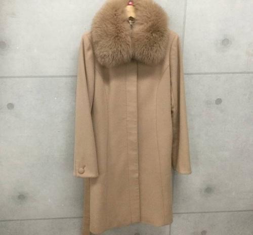 コートのステンカラーコート