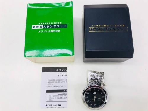 懐中時計のJR