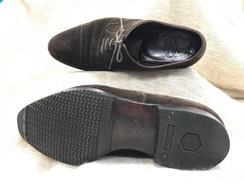 レザーの靴