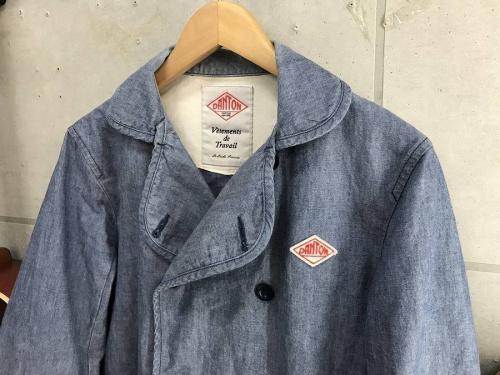ジャケットのワーク