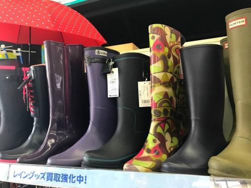 梅雨のレイングッズ