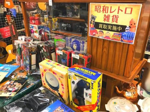 昭和レトロの浦和雑貨