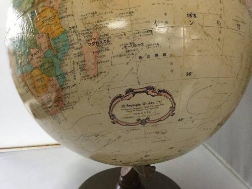 地球儀のREPLOGLE