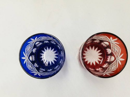 江戸切子のペアグラス
