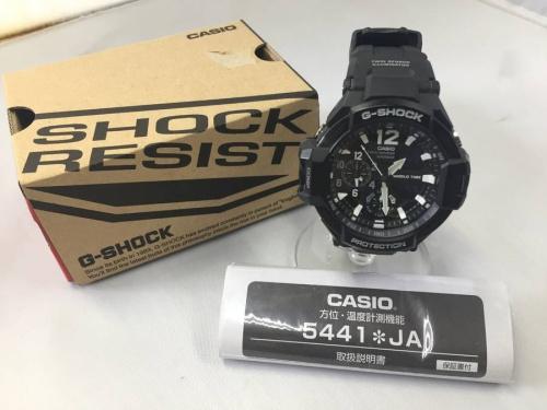 腕時計のG SHOCK