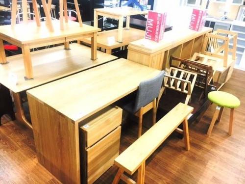 オーク材の浦和3店中古家具