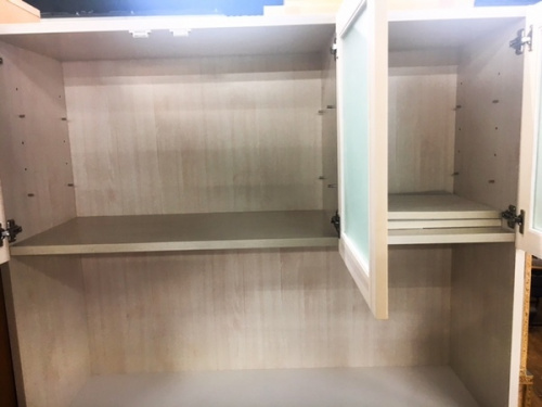 カップボード・食器棚の未使用