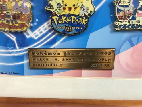 記念品のポケパーク 2005年 ピンズセット 1000個限定