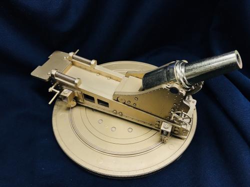 28糎(サンチ)榴弾砲の三井金属