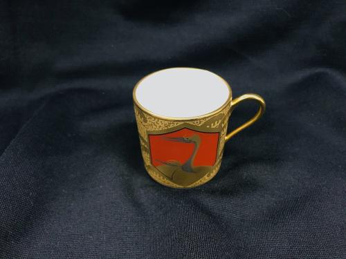 洋食器のデミタスカップ&ソーサー