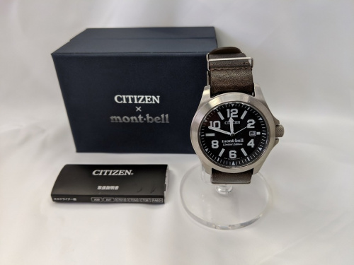 CITIZENのmont-bell