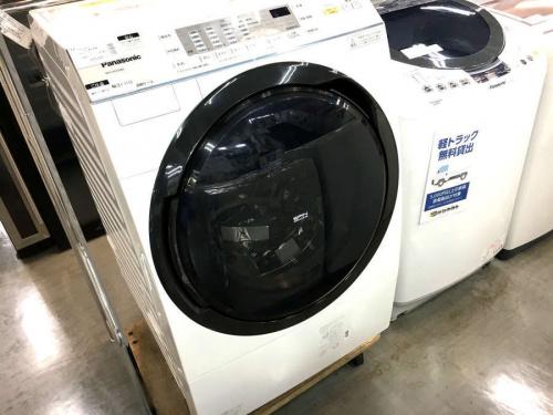 生活家電のドラム洗濯乾燥機