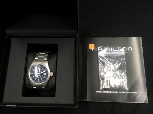 HAMILTON 中古 買取の浦和 腕時計 買取