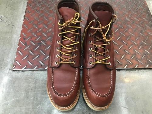ブーツのレッドウイング