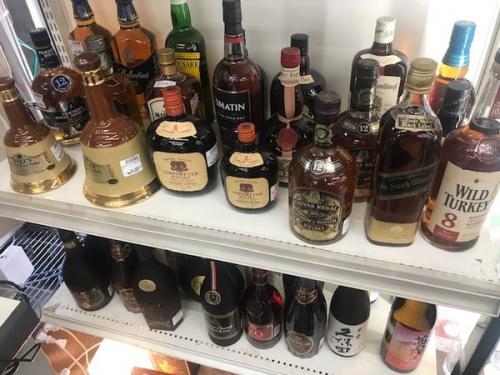 お酒買取のウイスキー