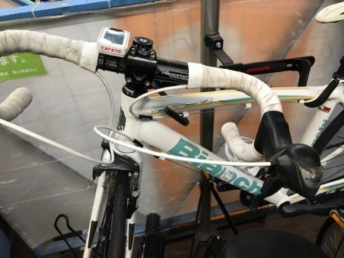 自転車のビアンキ