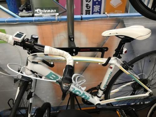 ビアンキのクロスバイク