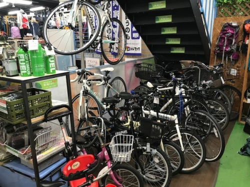 クロスバイクの中古自転車