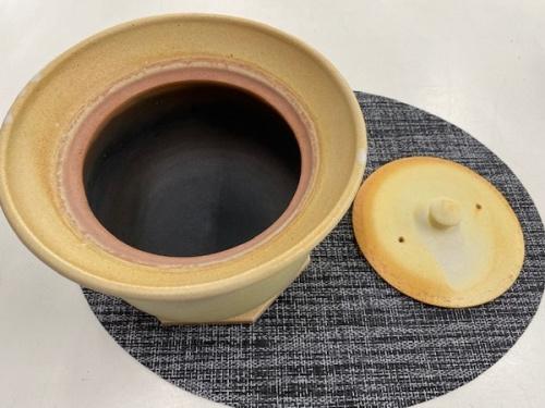 キッチン雑貨の土鍋