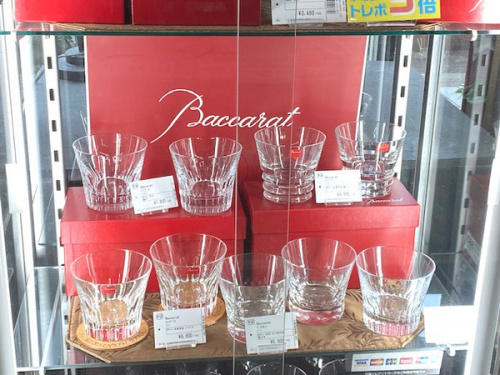 Baccaratのグラス