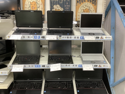 デジタル家電のパソコン